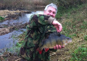 Tim - perch from Newport Pagnell river